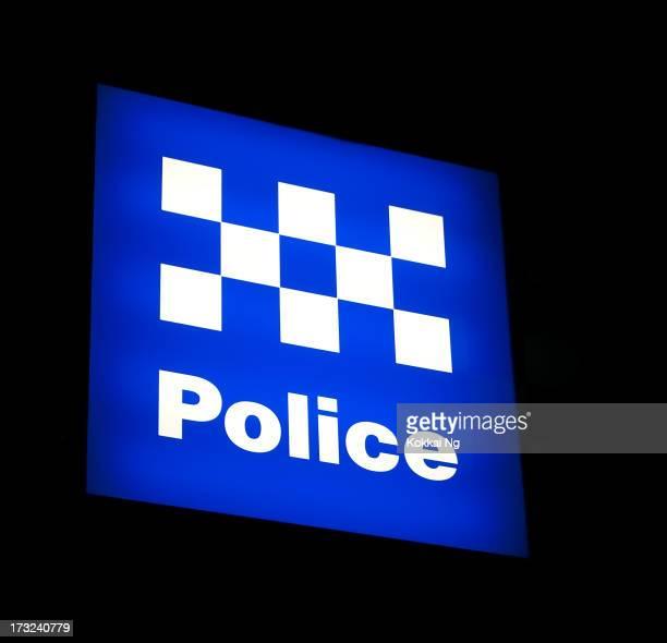 Australian Police Sign