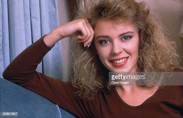 Australian pop singer Kylie Minogue 1988