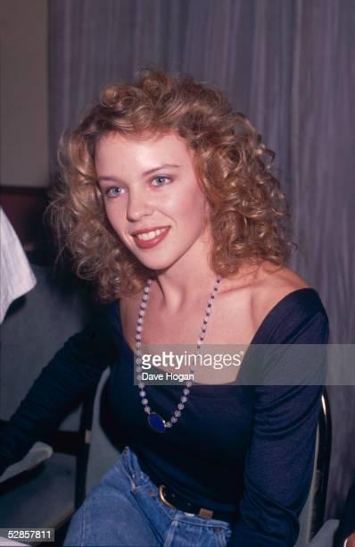 Australian pop singer Kylie Minogue 22nd May 1989