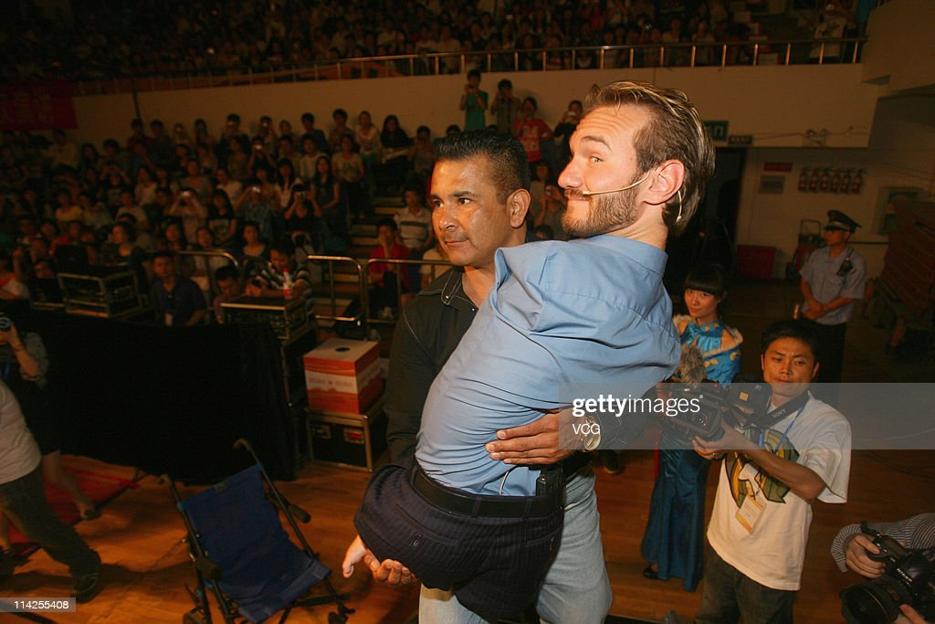 Nick Vujicic Lectures In China