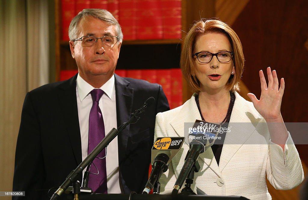 Julia Gillard Announces Increase In Medicare Levy