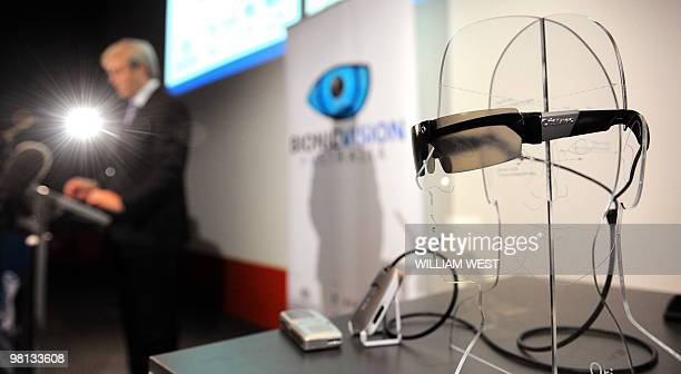 Australian Prime Minister Kevin Rudd speaks at the launch of a prototype bionic eye designed to help patients suffering from degenerative vision loss...