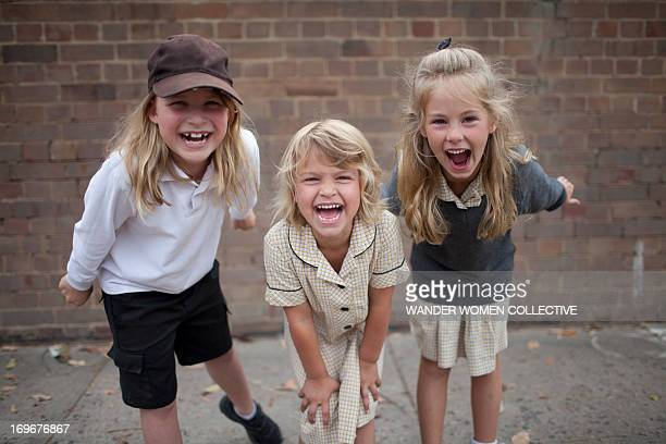 Australian public school kids in playground