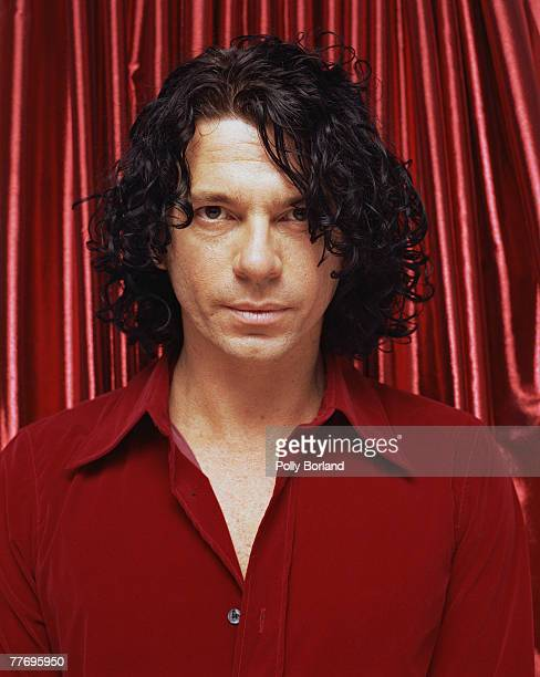 Australian rock star Michael Hutchence the vocalist of the group INXS circa 1995