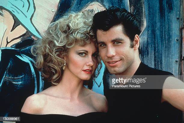 Australian singer and actress Olivia NewtonJohn and American actor John Travolta as they appear in the Paramount film 'Grease' 1978