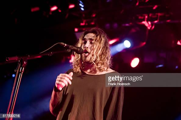 Australian singer Matt Corby performs live during a concert at the Astra on March 24 2016 in Berlin Germany