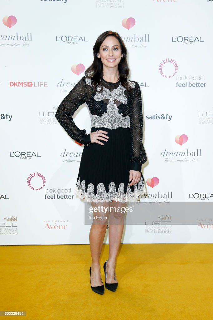 Australian singer Natalie Imbruglia attends the Dreamball 2017 at Westhafen Event & Convention Center on September 20, 2017 in Berlin, Germany.