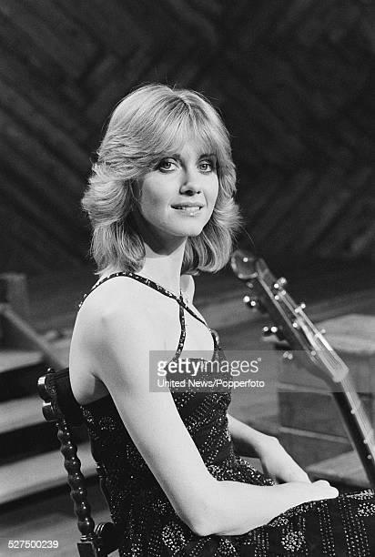 Australian singer Olivia NewtonJohn posed in London on 20th May 1977