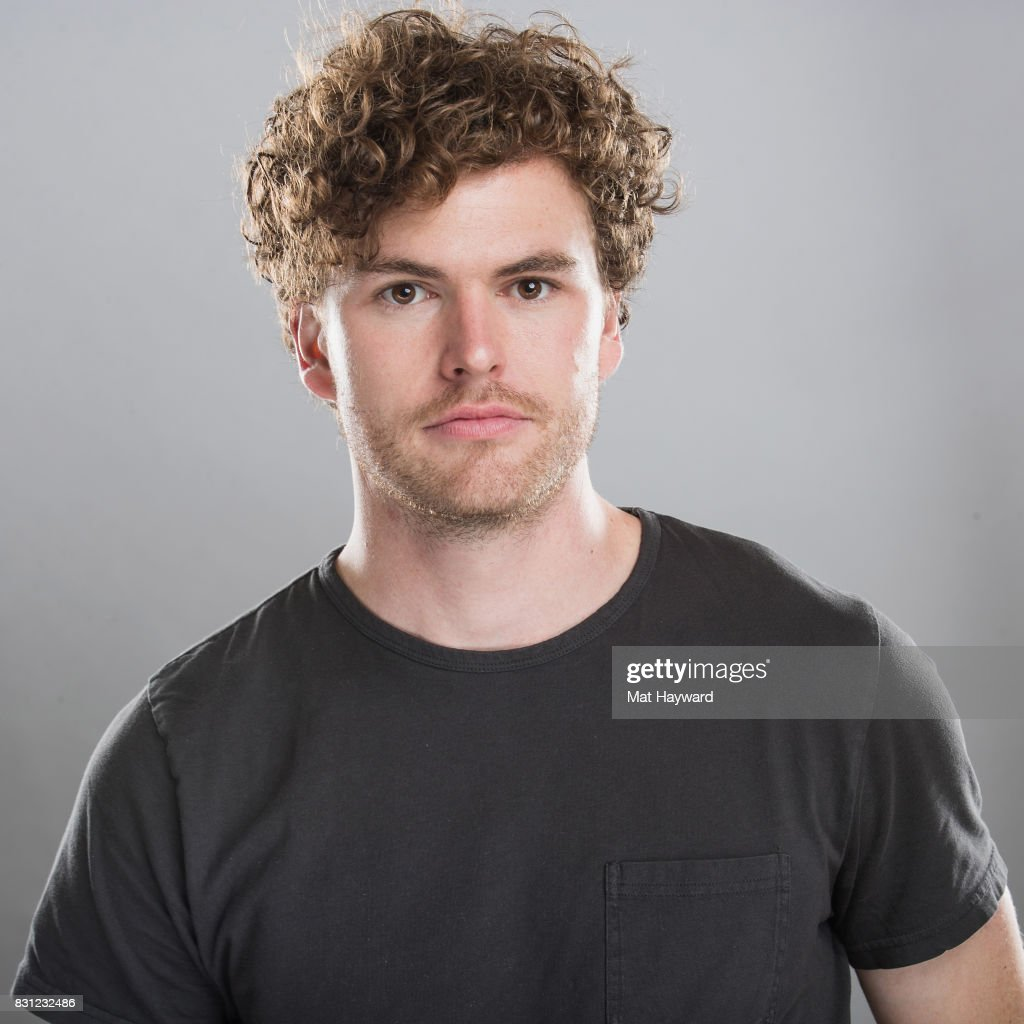 Australian singer-songrwriter Vance Joy poses for a portrait back stage during the Summer Camp Music Festival hosted by 107.7 the End at Marymoor Park on August 13, 2017 in Redmond, Washington.