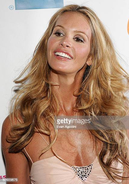 Australian supermodel Elle MacPherson attends 'The Interpreter' premiere at the Ziegfeld Theatre on April 19 2005 in New York City