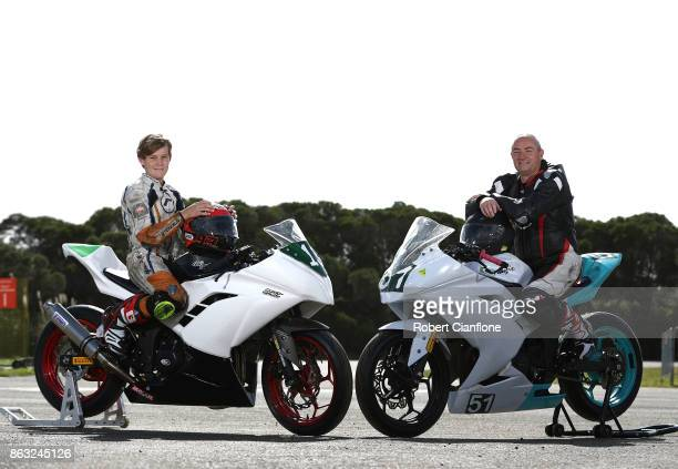 Australian Superport 300 riders Travis Hall 13 years old and Austin Barnes 60 are the youngest and oldest competitors at the 2017 MotoGP of Australia...