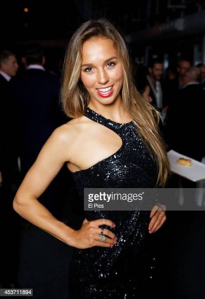 Australian Surfer Sally Fitzgibbons attends the Ken Sutcliff 35 years in Television party celebrated at the Maritime Museum of Sydney on June 3rd...
