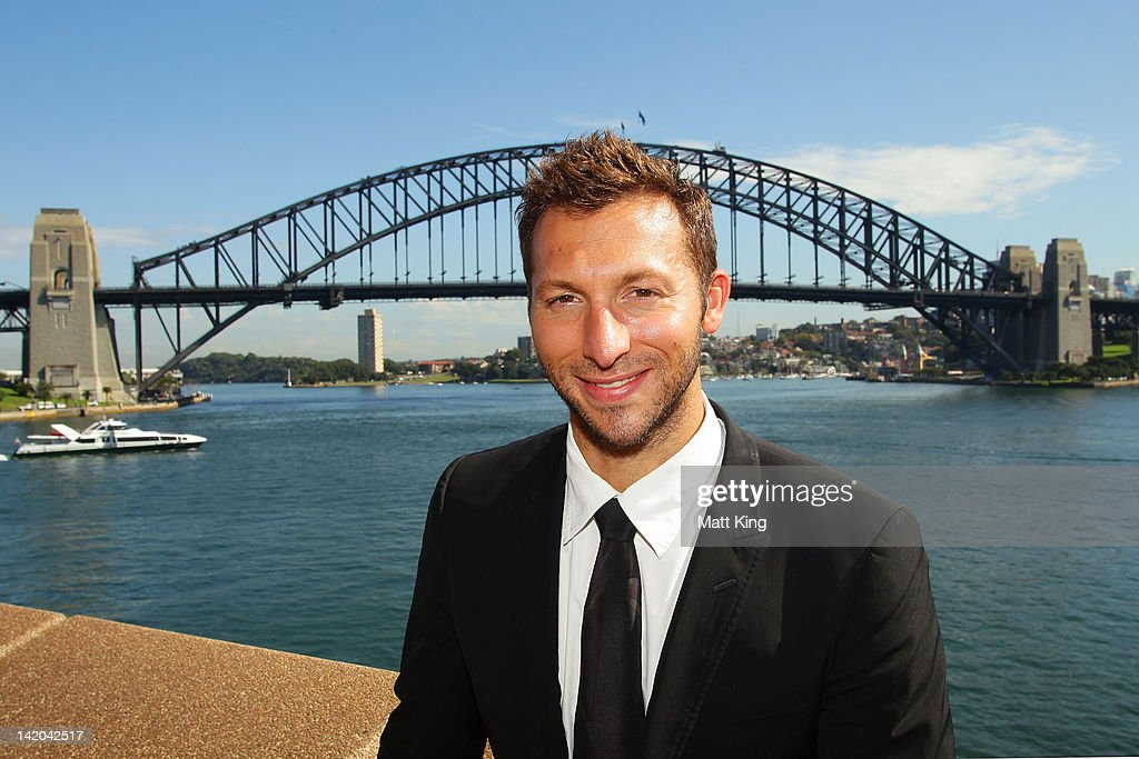 Australian swimmer <a gi-track='captionPersonalityLinkClicked' href=/galleries/search?phrase=Ian+Thorpe&family=editorial&specificpeople=162699 ng-click='$event.stopPropagation()'>Ian Thorpe</a> attends the announcement of Australia's participation in the Yeosu Expo 2012 at the Sydney Opera House on March 29, 2012 in Sydney, Australia.