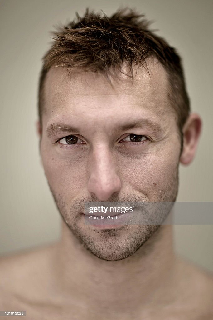 Australian swimmer <a gi-track='captionPersonalityLinkClicked' href=/galleries/search?phrase=Ian+Thorpe&family=editorial&specificpeople=162699 ng-click='$event.stopPropagation()'>Ian Thorpe</a> poses at the Pan Pacific Hotel on November 1, 2011 in Singapore.