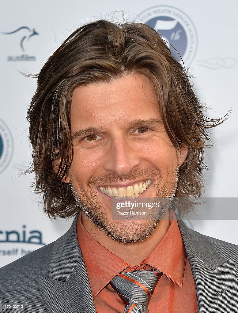 Australian television and radio presenter Osher Günsberg attends the Australians In Film and Heath Ledger Scholarship Host 5th Anniversary Benefit Dinner on June 12, 2013 in Los Angeles, California.