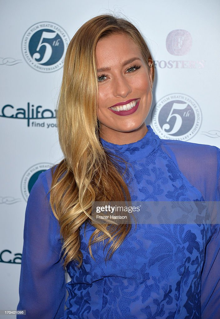 Australian television personality Renee Bargh attends the Australians In Film and Heath Ledger Scholarship Host 5th Anniversary Benefit Dinner on June 12, 2013 in Los Angeles, California.