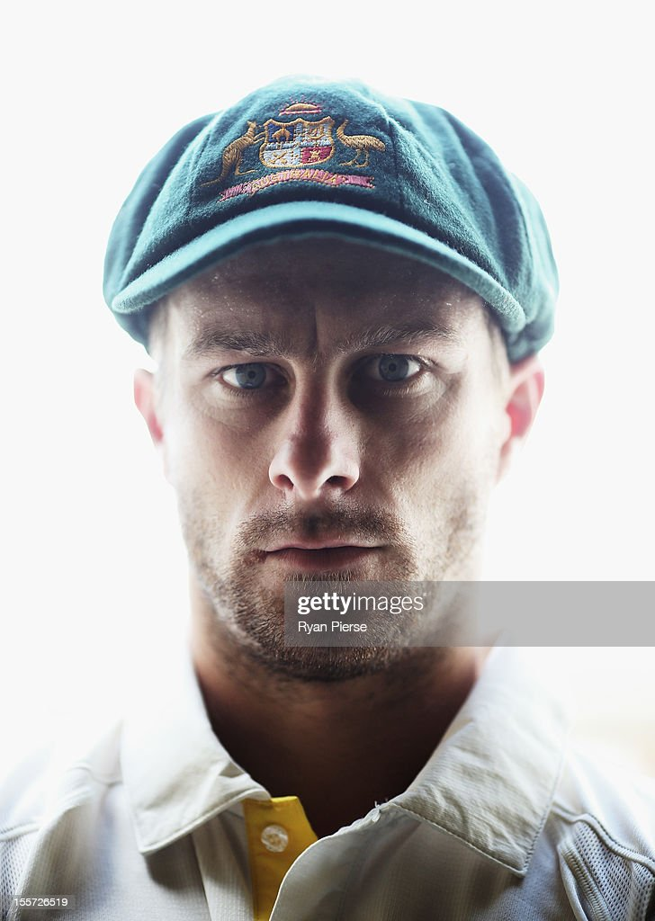 Australian wicketkeeper Matthew Wade poses during a portrait session at The Gabba on November 8, 2012 in Brisbane, Australia.