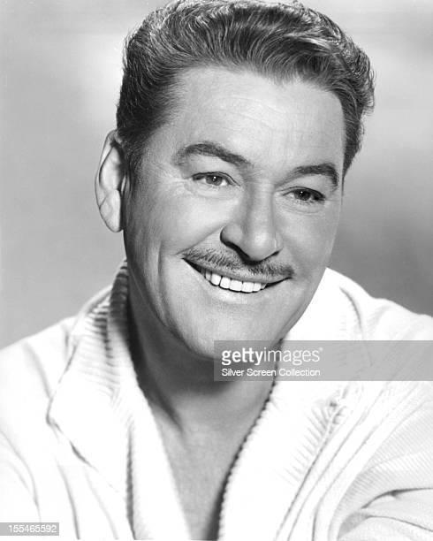 Australianborn American actor Errol Flynn circa 1955