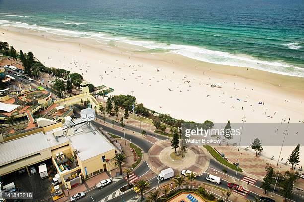 AUSTRALIA-Queensland-GOLD COAST-Surfer's Paradise: High View of Surfer's Paradise Beach