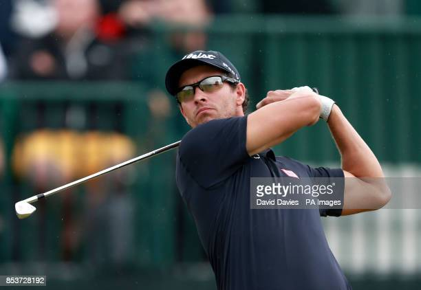 Australia's Adam Scott during day three of the 2014 Open Championship at Royal Liverpool Golf Club Hoylake