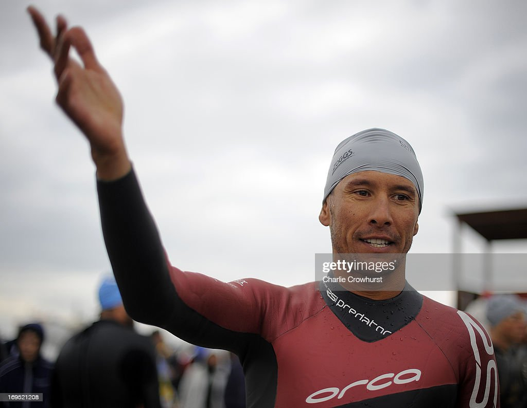 Australia's Chris McCormack during the Challenge Family Triathlon Rimini on May 26, 2013 in Rimini, Italy.