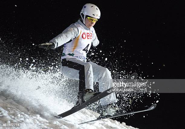 Australia's Danielle Scott lands during the Men's Aerials Finals during FIS Freestyle and Snowboarding World Ski Championships in Kreischberg Austria...
