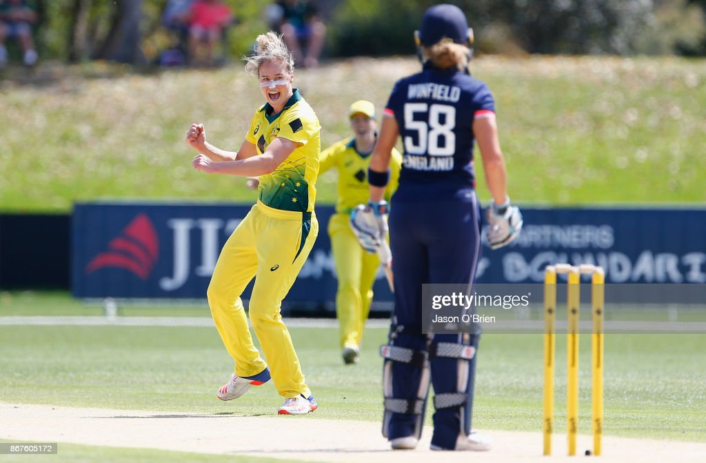 Australia v England - 3rd Women's ODI