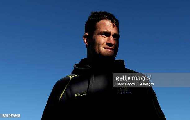 Australia's James Horwill during a recovery session at Coogee Beach Sydney in Australia