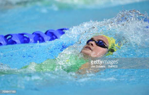 Australia's Keryn McMaster during the 400m Individual Medley at Tolcross International Swimming Centre during the 2014 Commonwealth Games in Glasgow