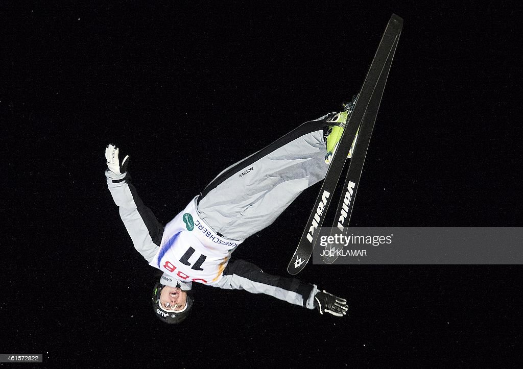 Australia's <a gi-track='captionPersonalityLinkClicked' href=/galleries/search?phrase=Laura+Peel&family=editorial&specificpeople=7476976 ng-click='$event.stopPropagation()'>Laura Peel</a> competes during the Women's Aerials Finals during FIS Freestyle and Snowboarding World Ski Championships 2015 in Kreischberg, Austria on January 15, 2015.