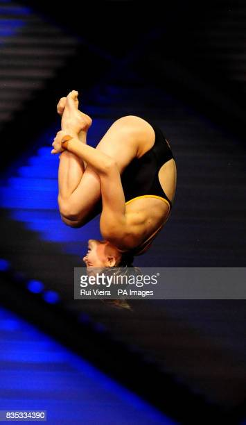 Australia's Melissa Wu during the Women's Platform Semi Final A during the FINA Diving World Series at Ponds Forge Sheffield