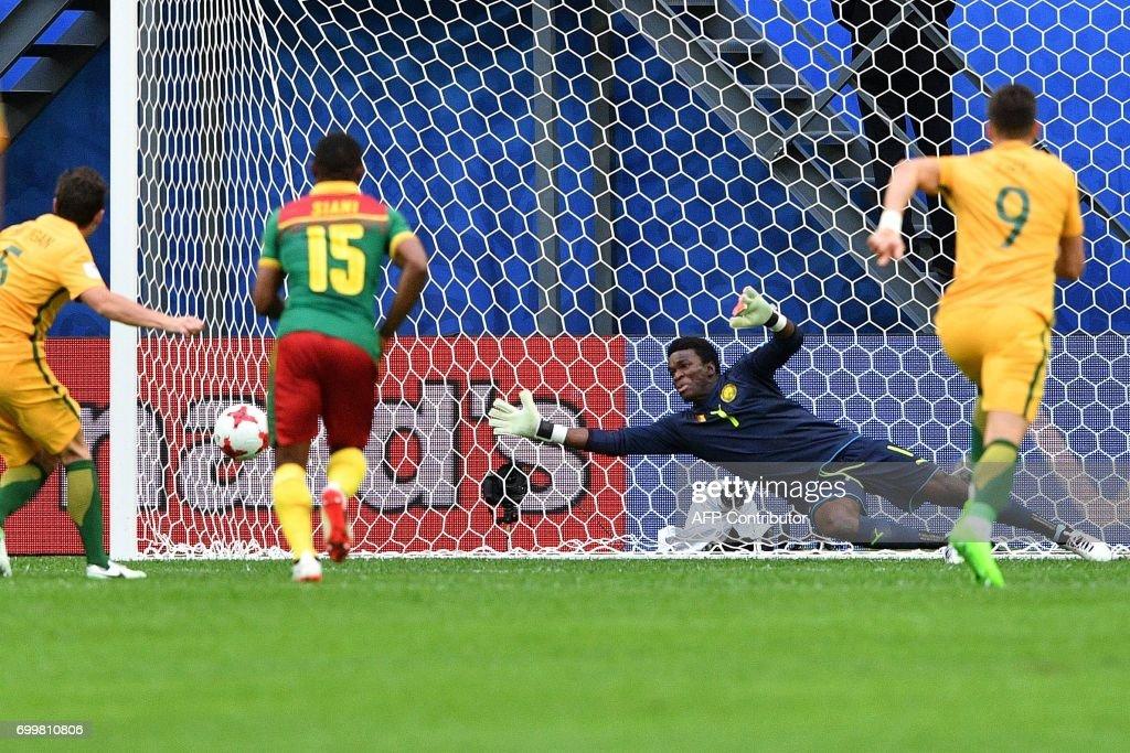 هدف أستراليا الأول في مرمى الكاميرون