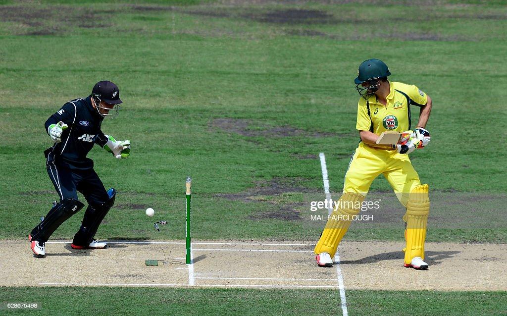 Australia v New Zealand - ODI Game 3