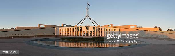 Australia's Parliament House in Canberra, ACT, Australia