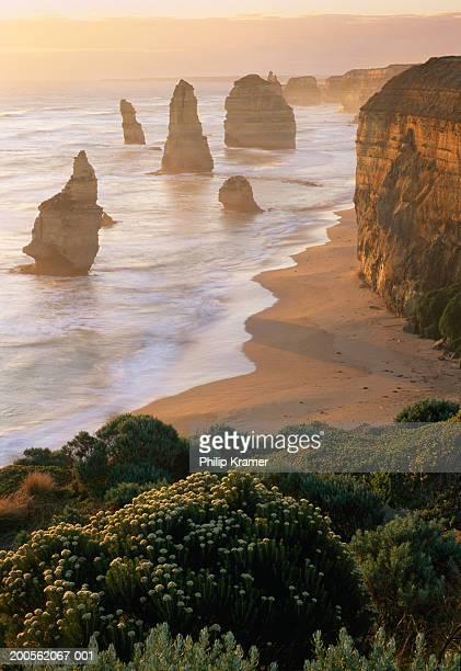 Australia,Victoria,Port Campbell National Park,Twelve Apostles,sunset