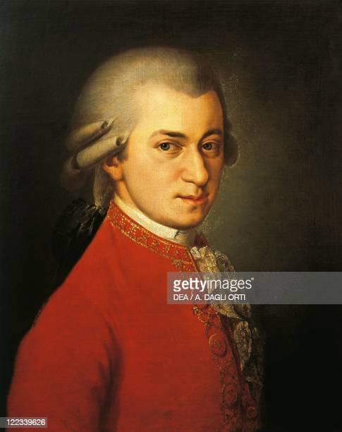 Austria 18th century Portrait of Wolfgang Amadeus Mozart Austrian composer and pianist