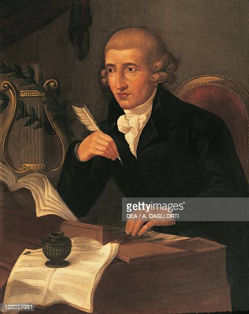 Austria 18th19th Century Portrait Of Franz Joseph Haydn Austrian Composer