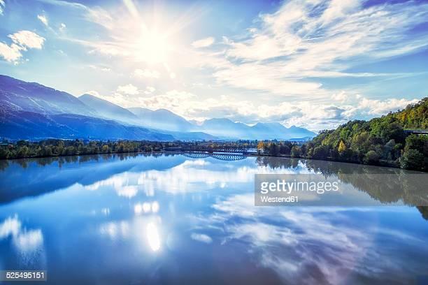 Austria, Carinthia, river Drau near Hollenburg
