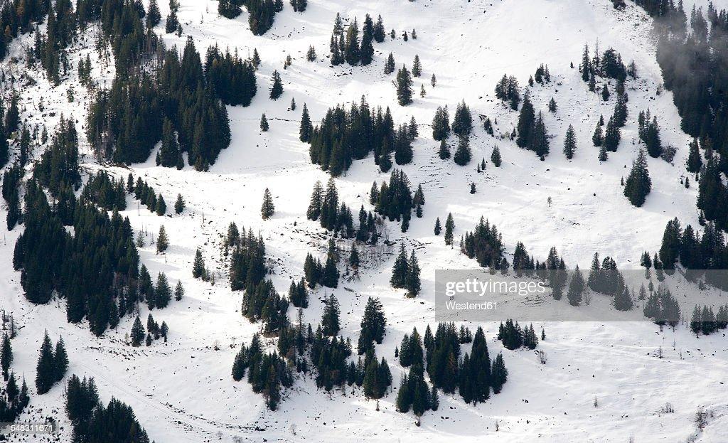 Austria, Carinthia, view from Grossglockner High Alpine Road to Grossglockner massif