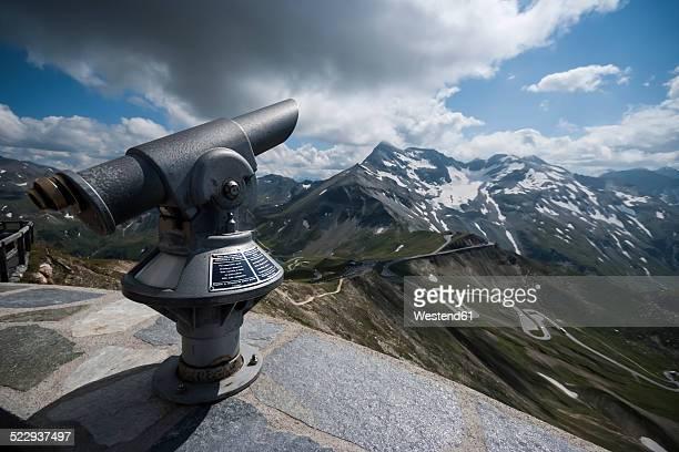 Austria, Grossglockner, Binocular