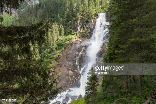 Austria, High Tauern National Park, Krimml waterfalls