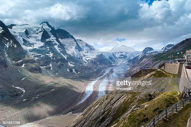Austria, Kaernten, Alps, High Tauern National Park, Grossglockner, Glacier