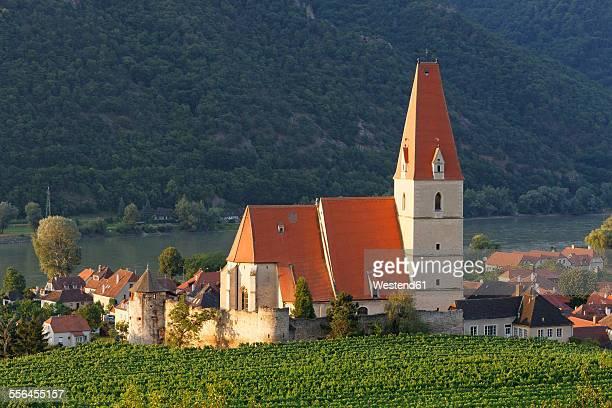 Austria, Lower Austria, Waldviertel, Weissenkirchen in der Wachau, Fortified Church Mariae Himmelfahrt