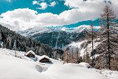 Austria, Salzburg State, Altenmarkt-Zauchensee, ski area