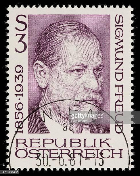 Austria Sigmund Freud stamp