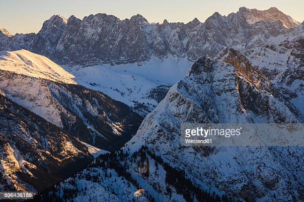 Austria, Tyrol, Karwendel mountains in winter