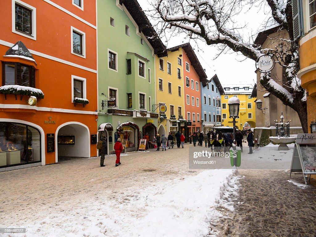 Austria, Tyrol, Kitzbuehel, alpine resort