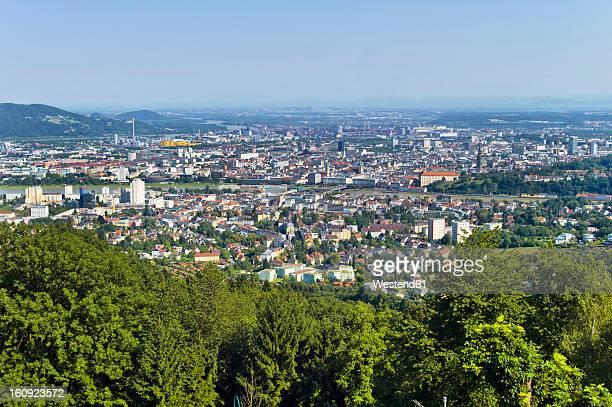 Austria, Upper Austria, Linz, View of cityscape