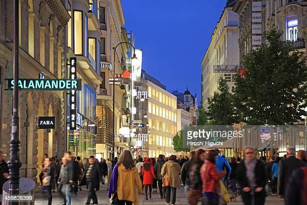 Austria, Vienna, Kaerntner Strasse