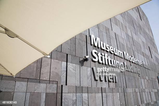 Austria Vienna Neubau the seventh district of Vienna Museum of Modern Art commonly known as the MUMOK